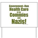 Govt Health Yard Sign