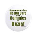 "Govt Health 3.5"" Button (100 Pack)"