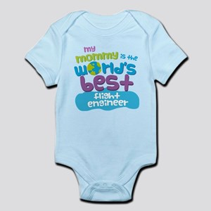 Flight Engineer Gift for Kids Infant Bodysuit