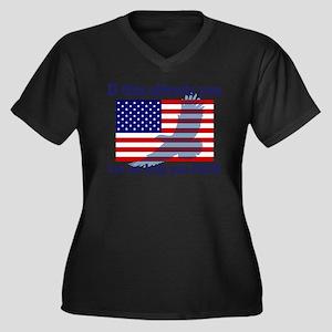Flag Eagle Patriot Plus Size T-Shirt