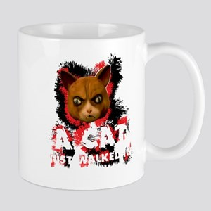 Mad Dogs walked Cat Shirt Mugs