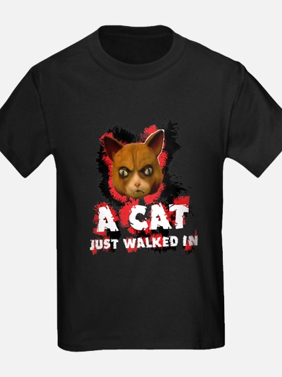 Mad Dogs walked Cat Shirt T-Shirt