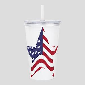 America Flag Acrylic Double-wall Tumbler