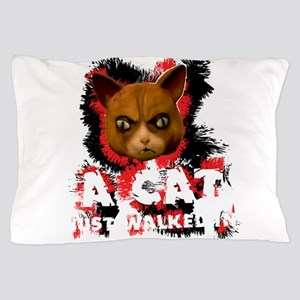 Mad Dogs walked Cat Shirt Pillow Case