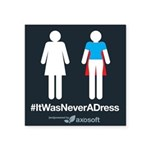 #itwasneveradress Sticker