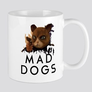 Mad Dogs Cat Shirt Mugs