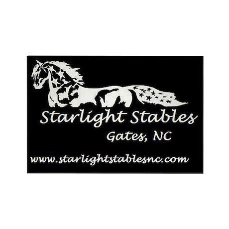 Starlight Stables Logo Rectangle Magnet