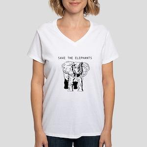 98d34f9f9 Save The Elephants T-Shirts - CafePress