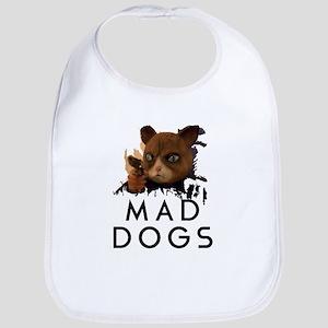 Mad Dogs Cat Shirt Bib