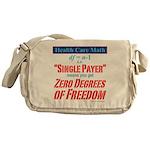 Health Math Messenger Bag