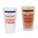 Health Math Drinking Glass