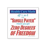 Health Math Sticker