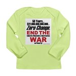 War On Poverty Long Sleeve T-Shirt