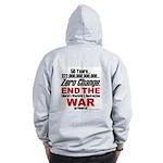 War On Poverty Zip Hoodie