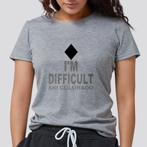 I'm Difficult Ski Colorado T-Shirt