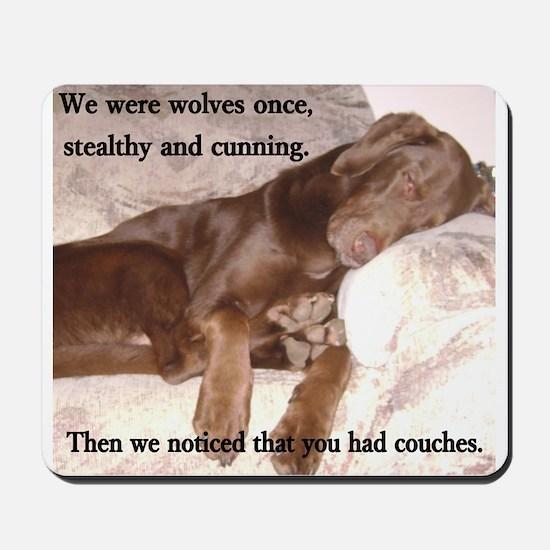 We Were Wolves Mousepad