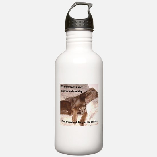 We Were Wolves Water Bottle