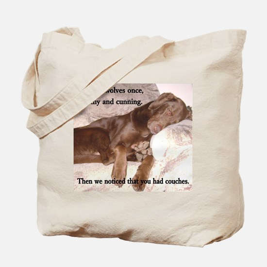 We Were Wolves Tote Bag