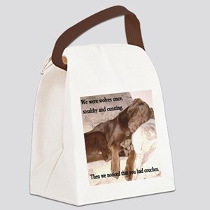 We Were Wolves Canvas Lunch Bag