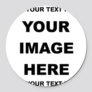 Make Personalized Gifts Round Car Magnet