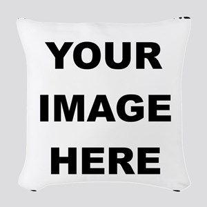 Make Personalized Gifts Woven Throw Pillow