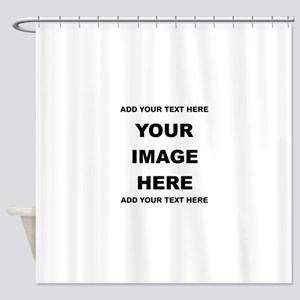 Make Personalized Gifts Shower Curtain