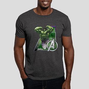 Avengers Hulk Leap Dark T-Shirt