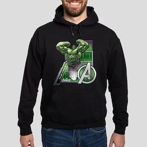 Avengers Hulk Leap Hoodie (dark)