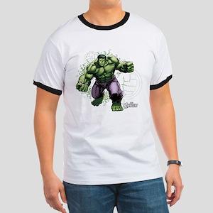 Avengers Hulk Fists Ringer T