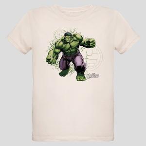 Avengers Hulk Fists Organic Kids T-Shirt