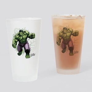 Avengers Hulk Fists Drinking Glass