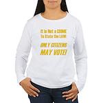 Citizens Women's Long Sleeve T-Shirt