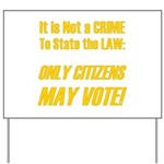 Citizens1 Yard Sign