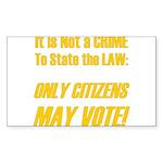 Citizens1 Sticker (Rectangle 50 pk)