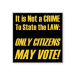 Citizens1 Square Sticker 3