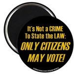 """Citizens1 2.25"""" Magnet (100 Pack) Magnets"""