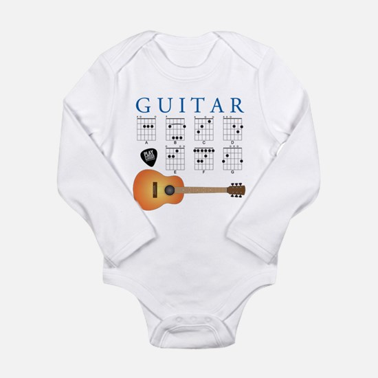 Guitar 7 Chords Body Suit