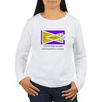 Glyph Pua Flag Women's Long Sleeve T-Shirt