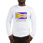Glyph Pua Flag Long Sleeve T-Shirt