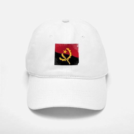 Angola Flag Baseball Baseball Cap