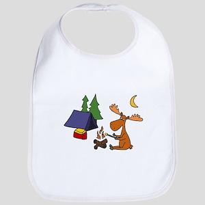 Funny Moose Camping Bib