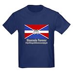 Glyph Maurasia Flag Kids Dark T-Shirt