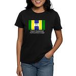 Glyph Guandaland Flag Women's Dark T-Shirt