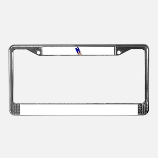 Credit Card License Plate Frame