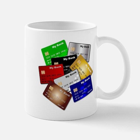 Debit and Credit Cards Mugs