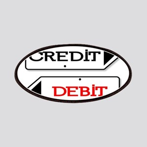 Credit Debit Arrows Patch