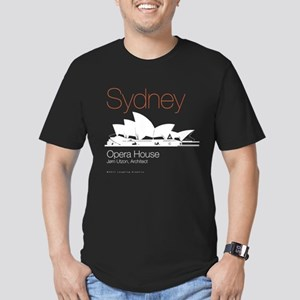 Sydney Men's Fitted T-Shirt (dark)