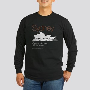 Sydney Long Sleeve Dark T-Shirt