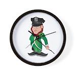 Cop Paddy Wall Clock