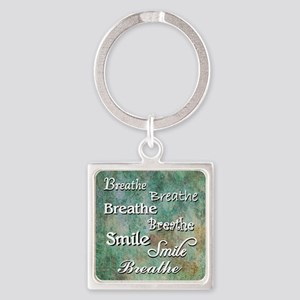 Breathe Smile Breathe Meme Keychains